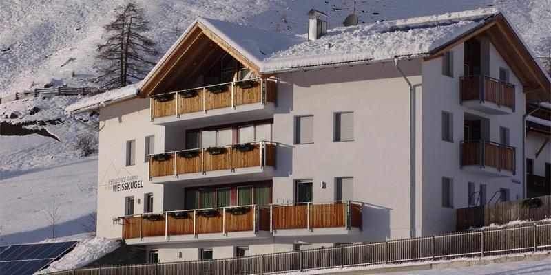 Residence Garni Weißkugel im Winter