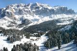 Baita Vallongia in den Dolomiten