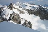 Blick von der Pleisenspitze, Karwendel nach Osten