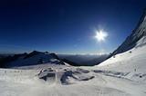 im Skigebiet Hintertux