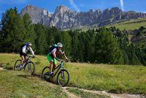 In bici per il Latemar