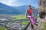 Kletter im Tiroler Oberland