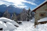 Lyfi-Alm winterlich