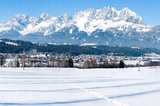Oberndorf mit Wildem Kaiser