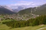 Panorama vo Seefeld
