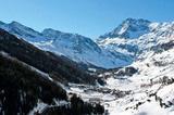Pfeders, Winter-Panorama