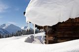 Schneemassen im Tiroler Außerfern
