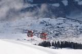 Schönjochbahn im Skigebiet Fiss