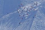 Varianten-Skifahrer